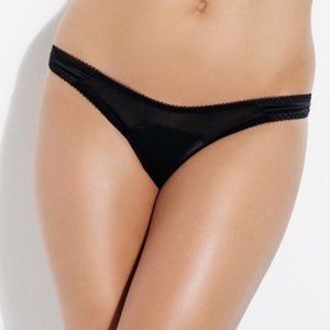 NWT L'Agent by AP PENELOPE Black Thong M